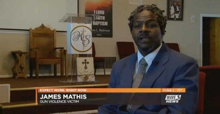 Reverend James Mathis - shot 6 times