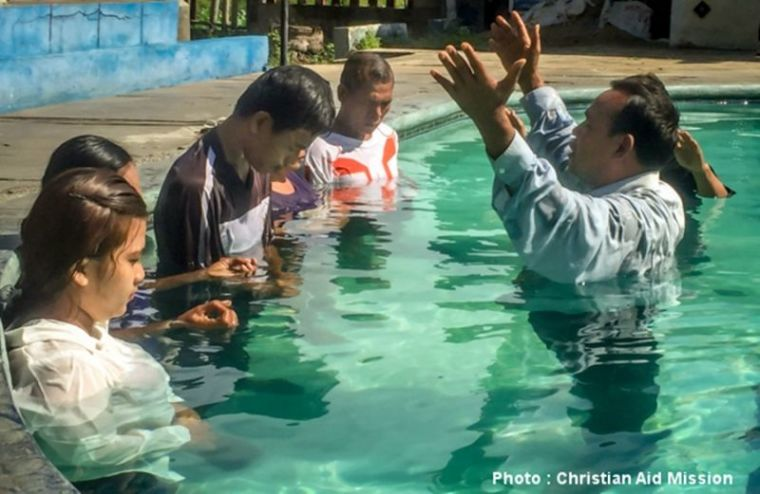Baptism in Indonesia