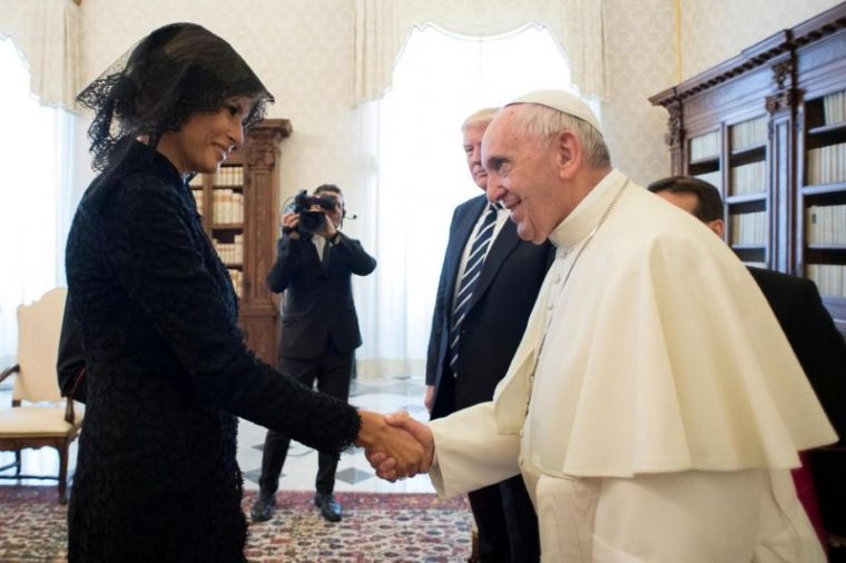 Melania Trump, Pope Francis, Vatican