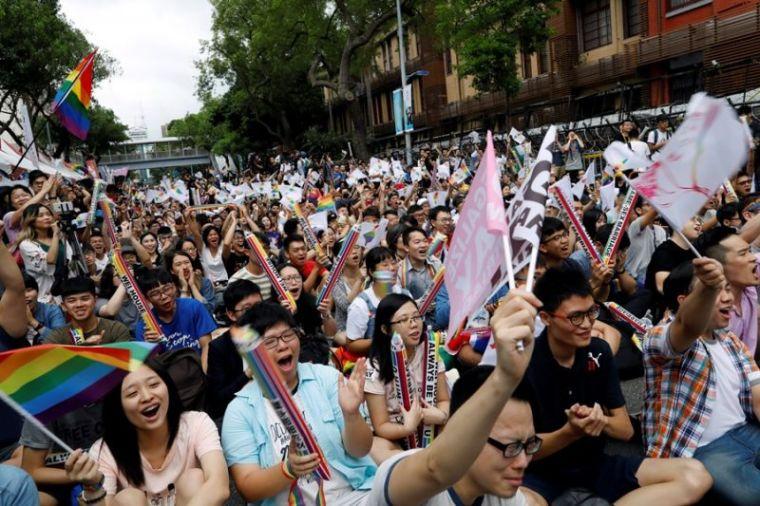 Taiwan pro-LGBT rally