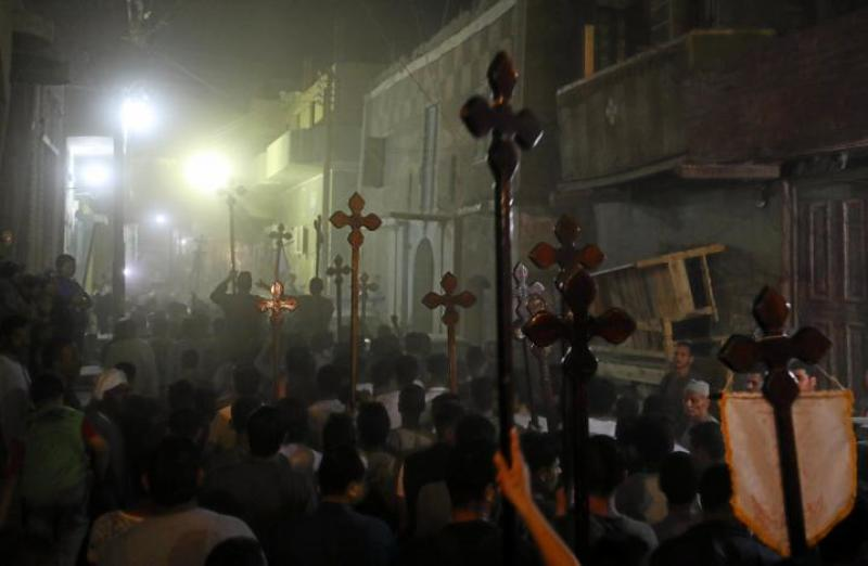 Muslim Mob Attacks Church, Homes and Shops of Coptic Christians in Egypt Over Facebook Comment About Islam