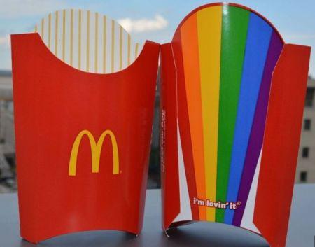 McDonald's gay pride