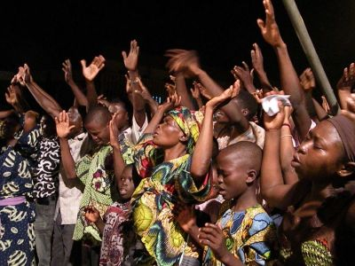 Nigerian worshippers
