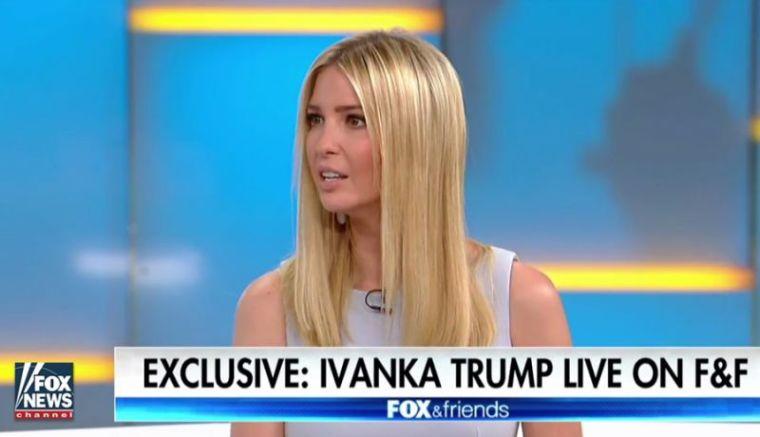 Ivanka Trump speaks
