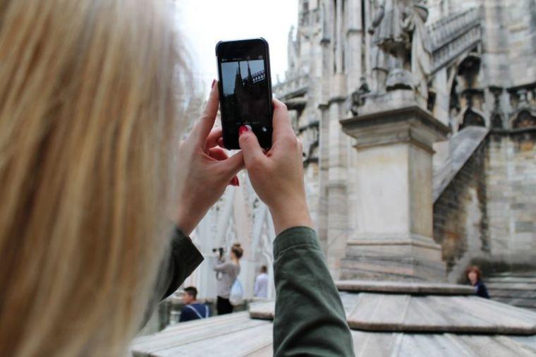 Phone in Church