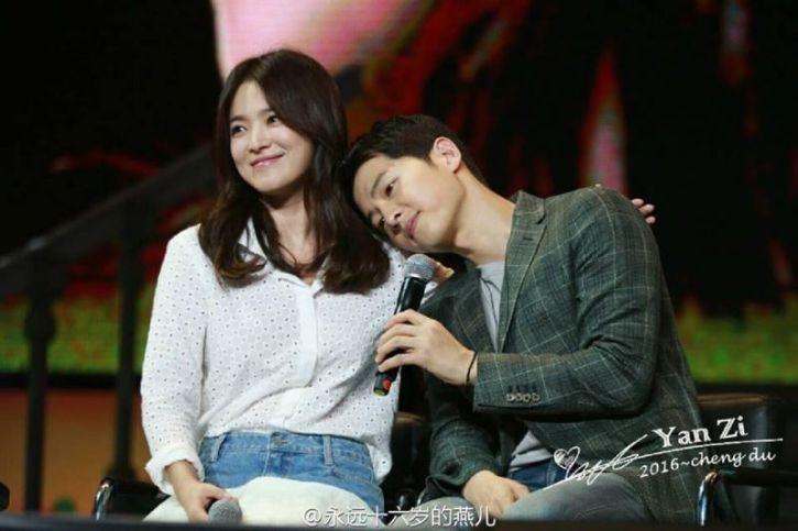 Joong ki dating song hye kyo Geschwindigkeit datiert maui
