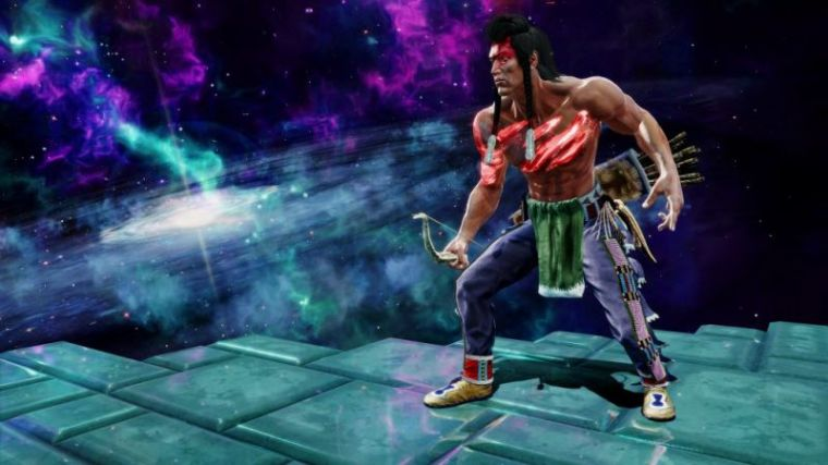 A promotional photo for the video game 'Killer Instinct.'