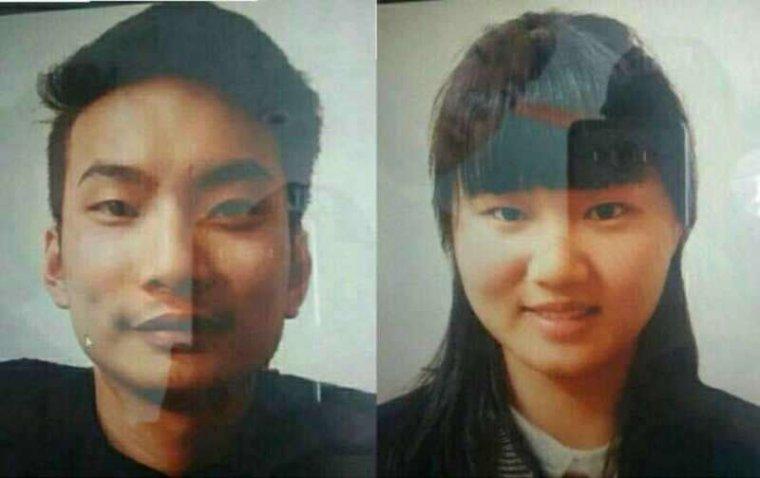 Lee Zingyang and Meng Lisi