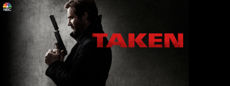 A promotional photo of NBC's TV series 'Taken.'