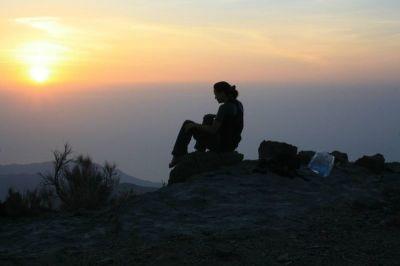 freedom, sunrise, silhouette