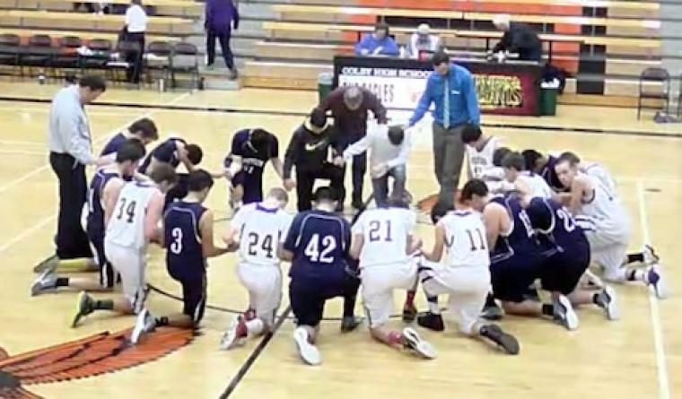 Cheylin basketball prayer