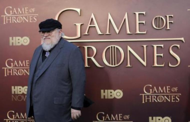 A photo of 'Game of Thrones' and 'Nightflyers' author George R.R. Martin.