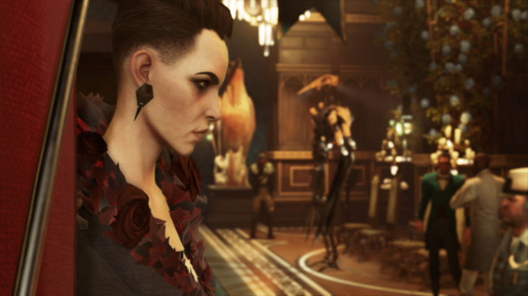 A promotional photo of the video game 'Dishonored 2.'