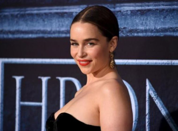 A photo of 'Game of Thrones' cast member Emilia Clarke.