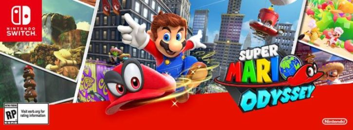 Super Mario Odyssey' Download File Size Revealed - The