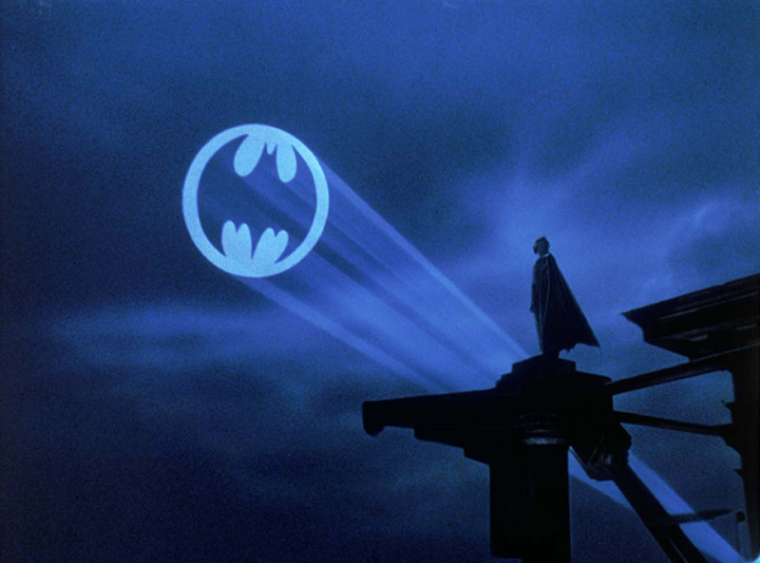"""A promotional photo of the 1989 movie """"Batman."""""""
