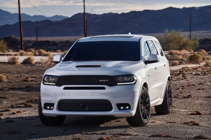 A Promotional Image For The 2018 Dodge Durango Srt