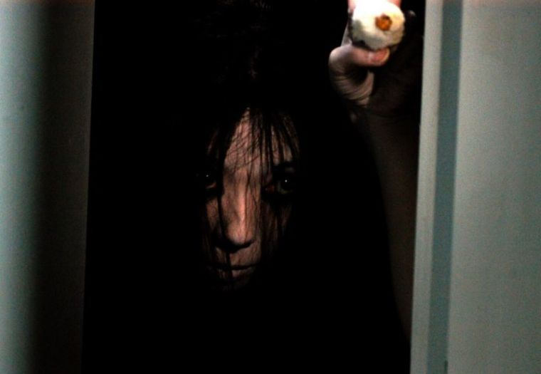 """A promotional photo from the horror movie """"The Grudge."""""""