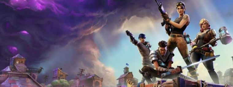 A promotional photo of the video game 'Fortnite.'