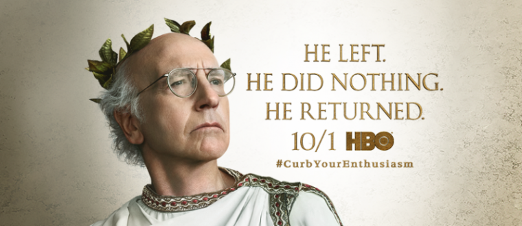 A promotional photo of HBO's TV series 'Curb Your Enthusiasm.'