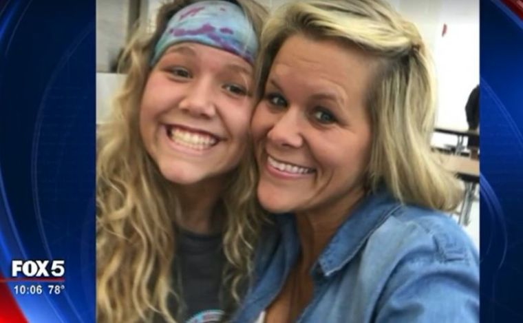 Kim Lee and her daughter Summer