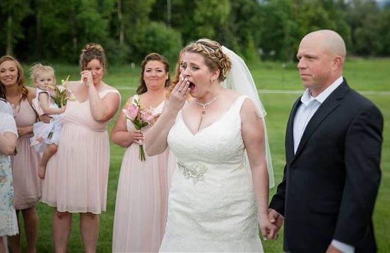 Becky Turney wedding surprise
