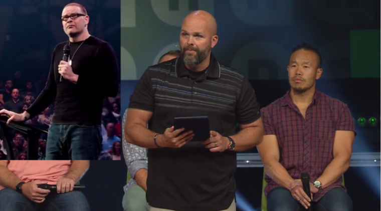 Perry Noble, Clayton King, NewSpring Church