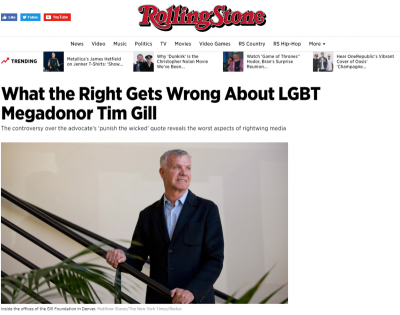 Rolling Stone, Tim Gill