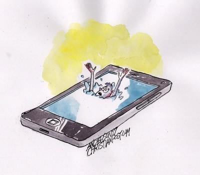 The Smartphone Mental Health Crisis