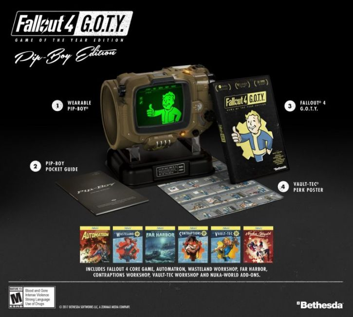 Fallout 4: Game of the Year Edition' to Include All DLCs