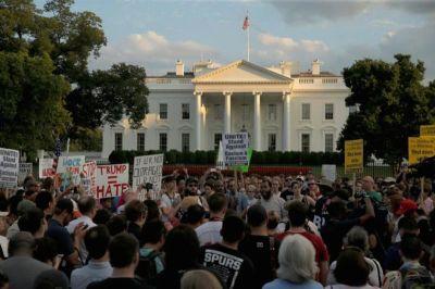 white house vigil, charlottesville