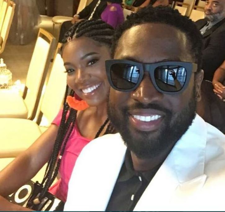 Gabrielle Union and Dwyane Wade Stopped by Security During Greece