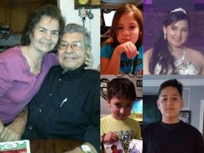 Saldivar family, Drowned