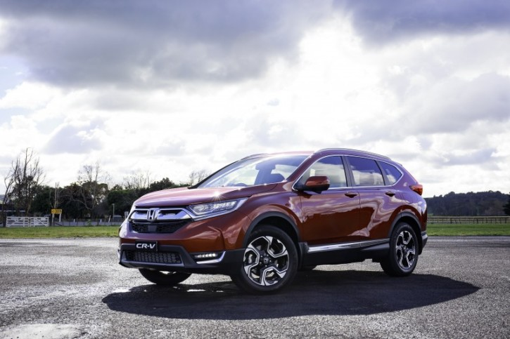 Featured Is An Image Of The 2017 Honda Cr V Photo