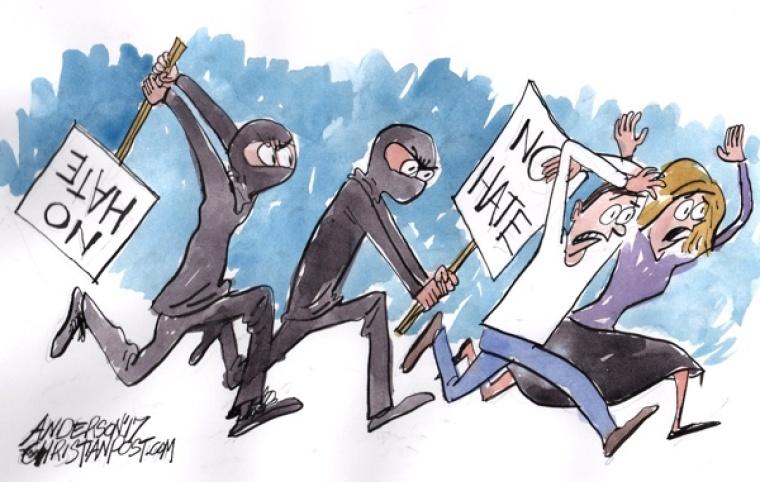 Antifa's 'Kill for Peace!' Attitude