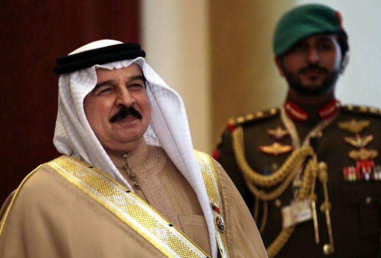 Bahrain's King Hamad bin Isa.
