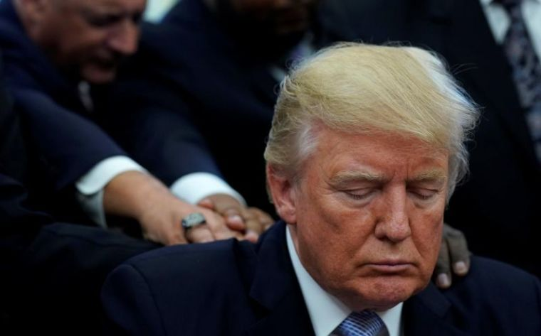 Pew Study: 82 Percent of White Evangelicals Would Vote for Trump if 2020 Election Were Held Today Despite Poor Job Performance