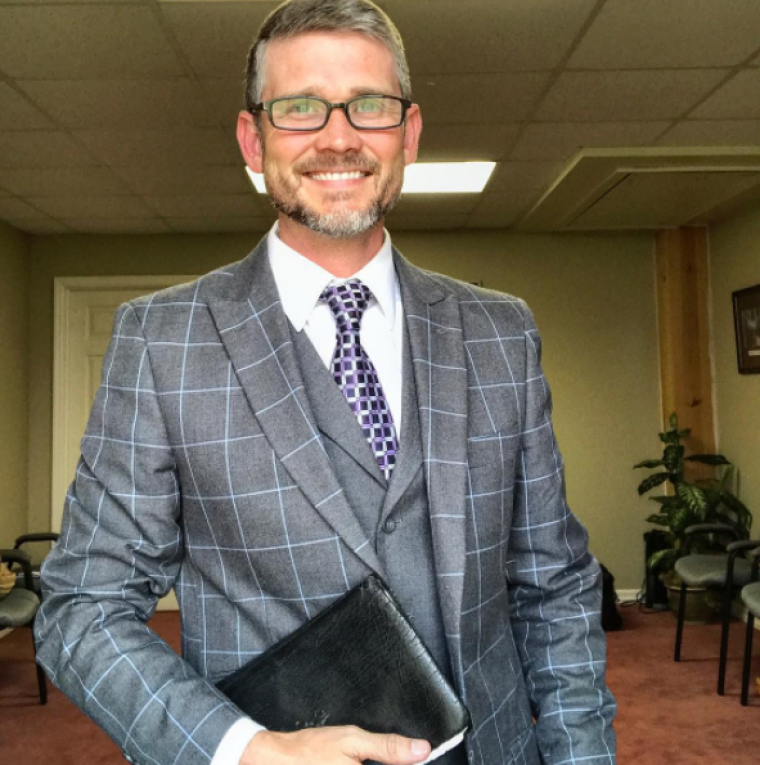 Tennessee Pastor Greg Locke Refuses to Wear Face Masks and Does Not Require Congregants to Wear One Because It's 'Utter Nonsense'
