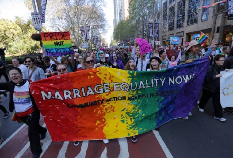 Australia same-sex marriage proponents