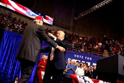 Donald Trump, Luther Strange