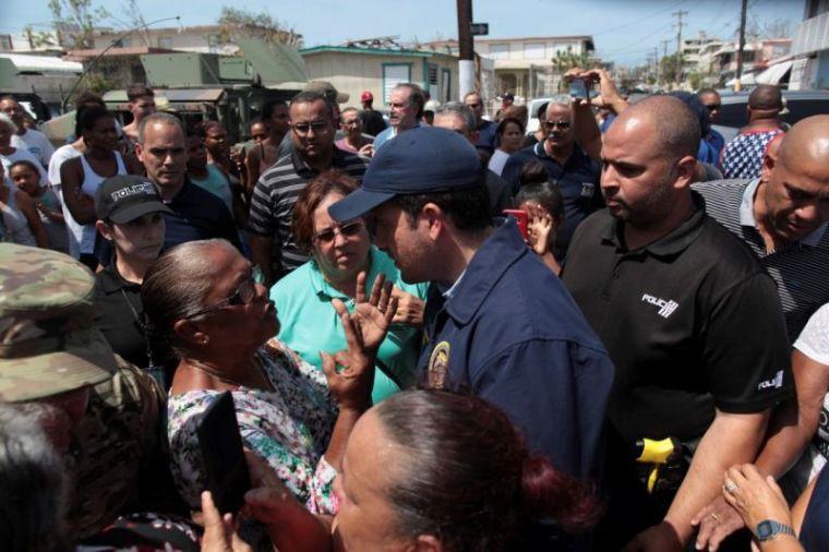 Puerto Rico's Governor Ricardo Rossello