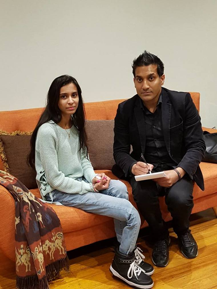 Kashmala Munawar and Wilson Chowdhry