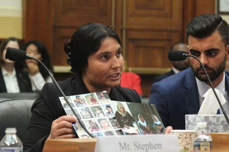 Yazidi woman testifies before congress