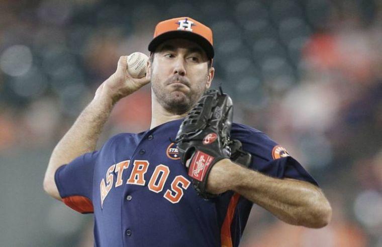 Justin Verlander, Houston Astros
