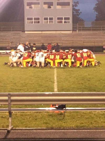High school football prayer
