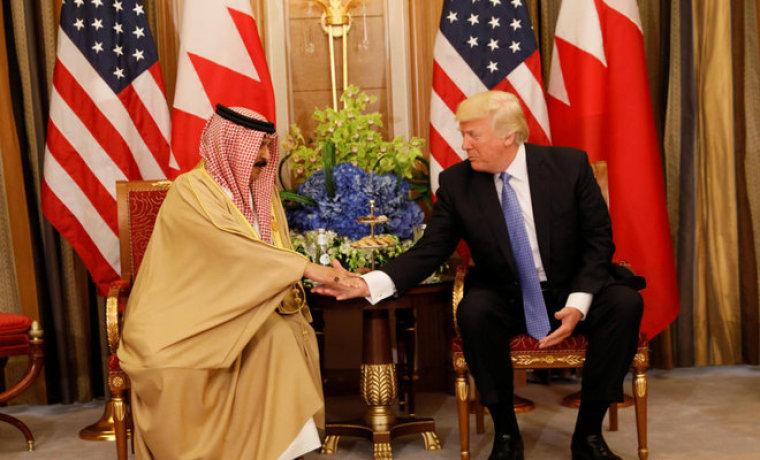 Donald Trump, King Hamad bin Isa Al Khalifa