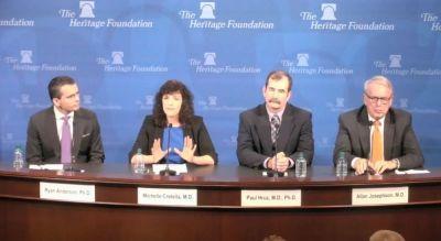 Heritage Foundation panel