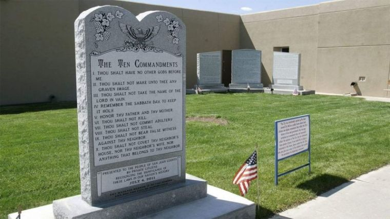Ten Commandments, New Mexico