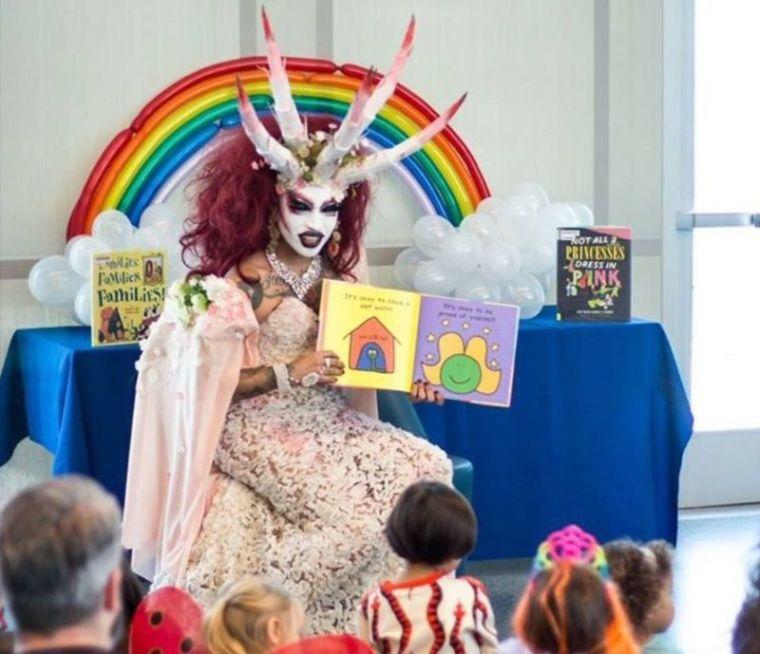Demon drag queen