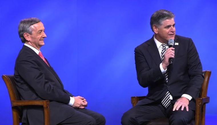 Robert Jeffress and Sean Hannity